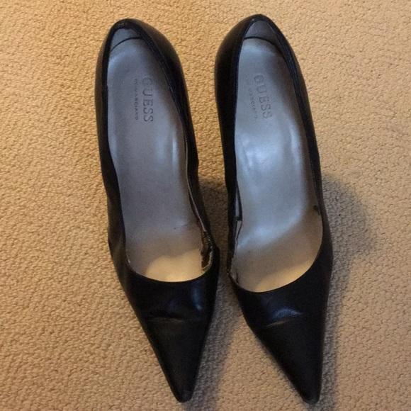 Guess Shoes   Guess Black Stilettos
